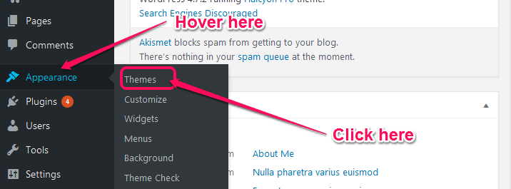 wp appearance theme.png