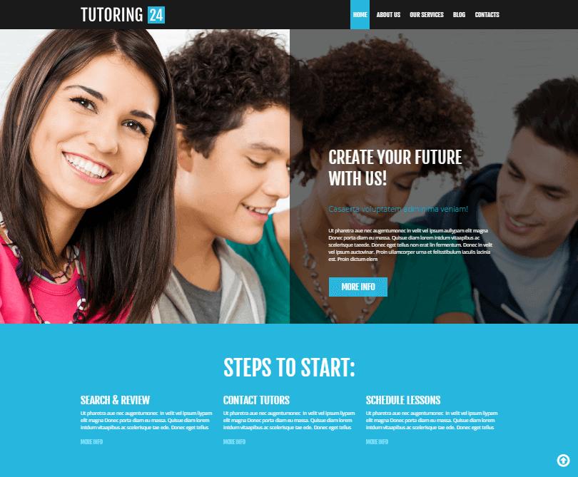 tutoring24 education wordpress themes