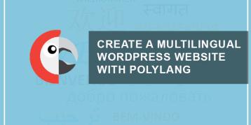 multilingual wordpress website polylang